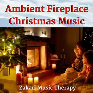 Ambient Fireplace Christmas Music