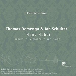 Hans Huber: Works for Violoncello & Piano