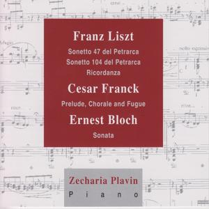 Liszt, Franck, Bloch: Piano Works