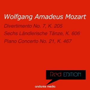 Red Edition - Mozart: Divertimento No. 7, K. 205 & Piano Concerto No. 21, K. 467