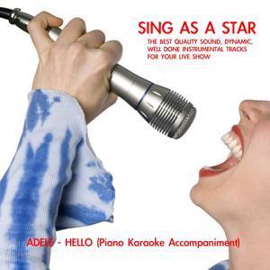 Hello (Real Piano Solo Karaoke Accompaniment)