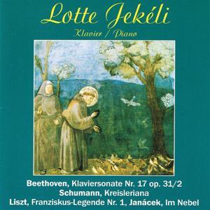 Beethoven: Klaviersonate No. 17 - Schumann: Kreisleriana für Klavier, Op. 16 - Janácek: Im Nebel