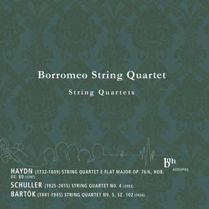 Haydn, Schuller, Bartók: Works for String Quartet