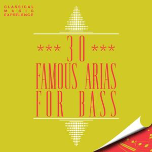 Classical Music Experience - 30 Famous Arias for Bass