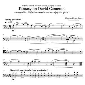 Fantasy on David Cameron (David Cameron's Lament in C Minor)
