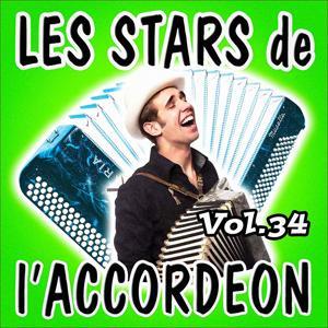 Les stars de l'accordéon, vol. 34