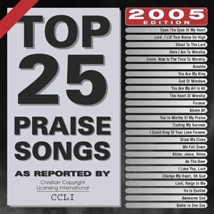 Top 25 Praise Songs 2005