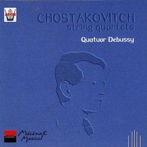 Chostakovitch : Quatuors à cordes No. 4, 8 et 13, vol. 1