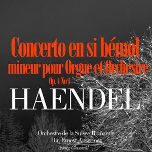 Haendel: Concerto en sol mineur pour Orgue et Orchestre, Op. 4 No. 1