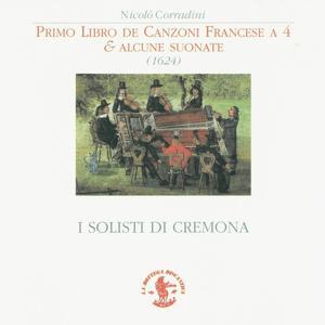 Corradini: Primo libro di canzoni Francesi a 4 mani - Alcune sonate (1624)